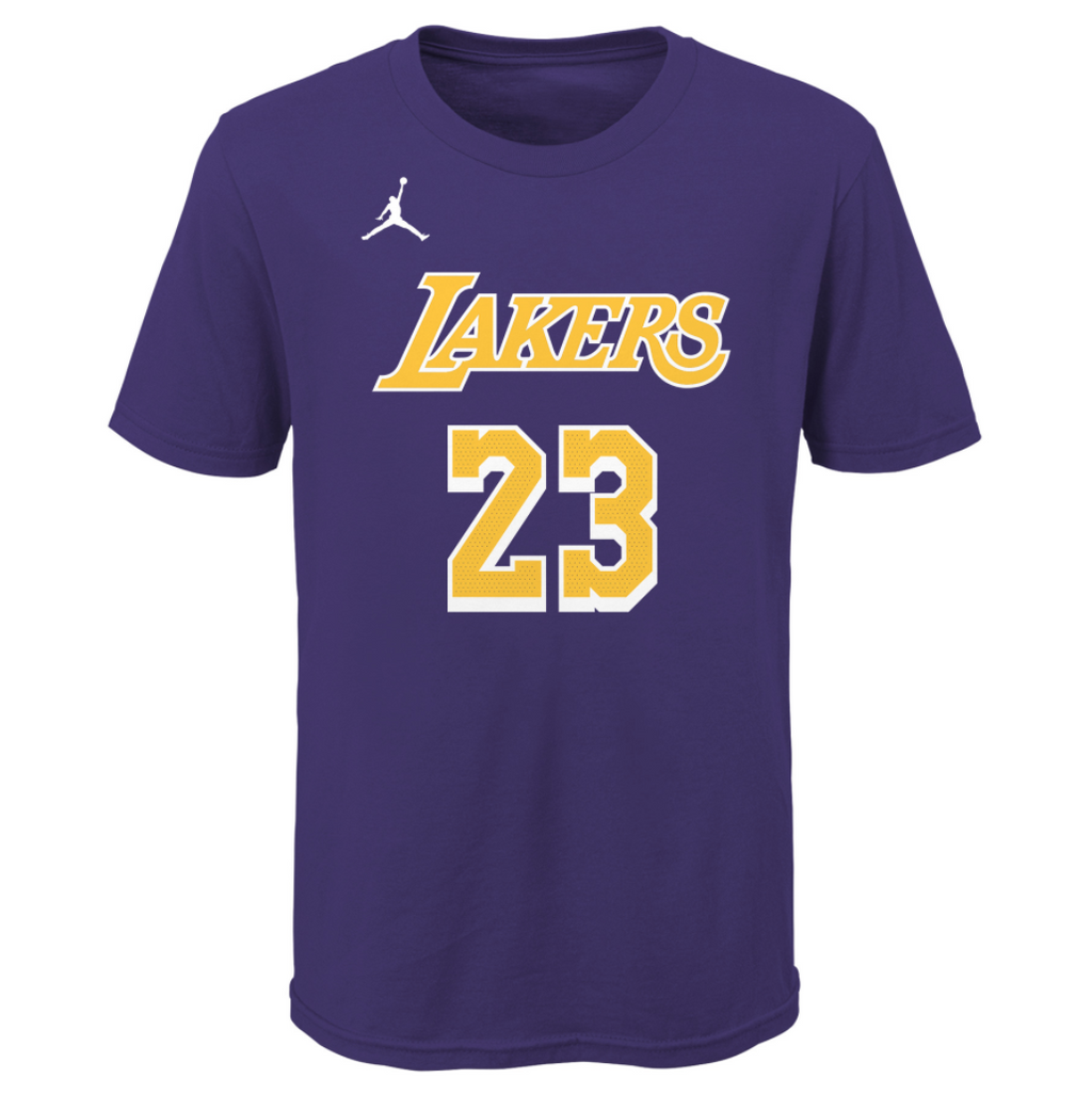Youth LeBron James N&N Tee Statement Edition (Lakers)
