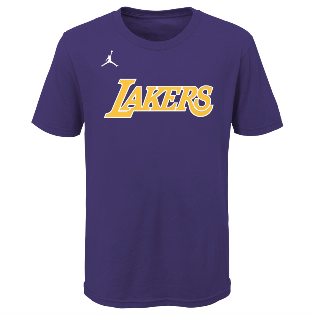 Youth NBA Essential Wordmark Tee Statement Edition (LA Lakers)