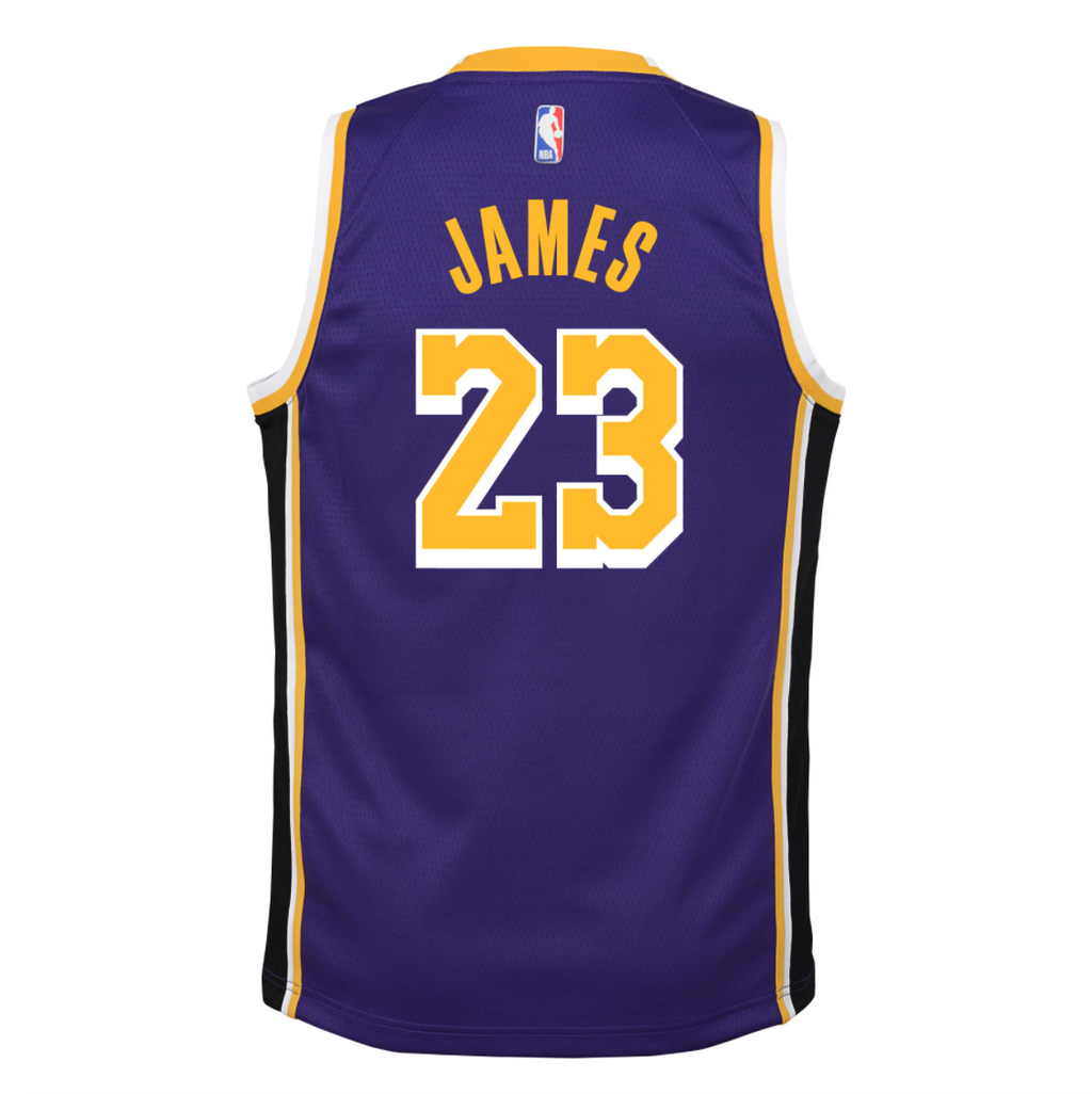 Youth LeBron James Statement Jersey (Lakers)