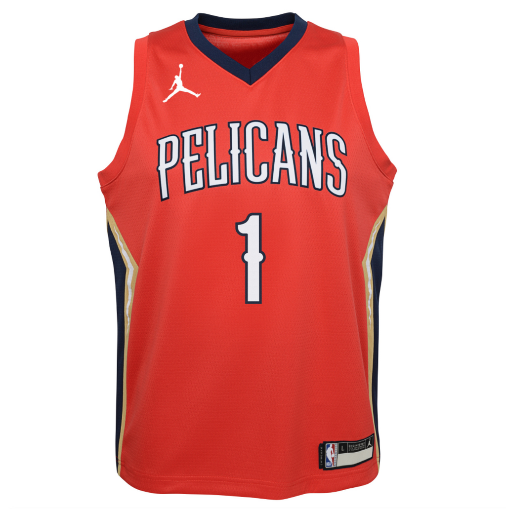 Youth Zion Williamson Statement Jersey (Pelicans)