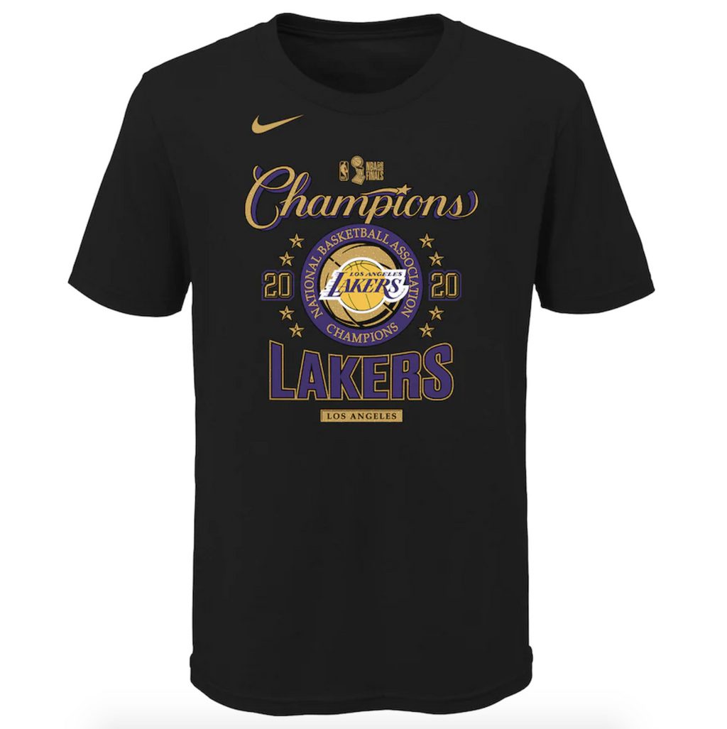 Youth Los Angeles Lakers Champs Locker Room Tee - 2020