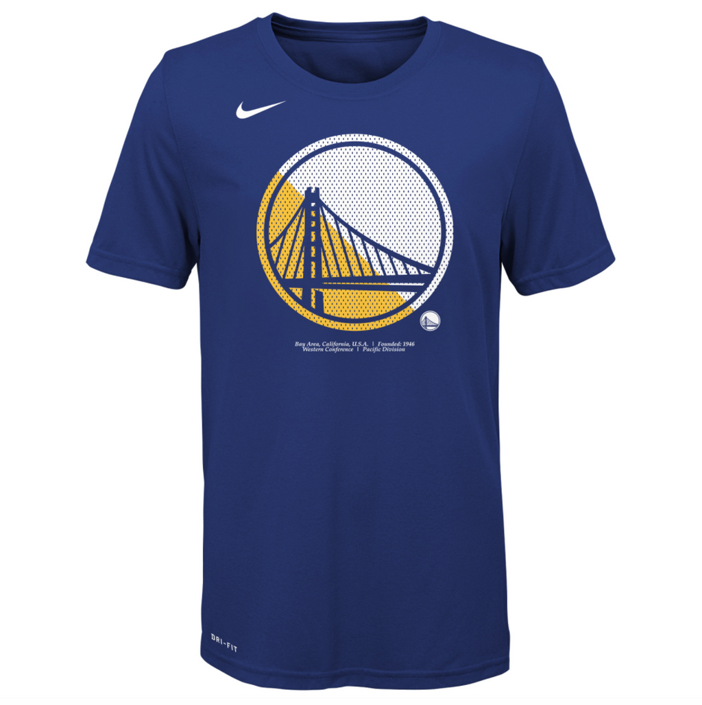 Youth Nike NBA Logo Tee (Warriors)