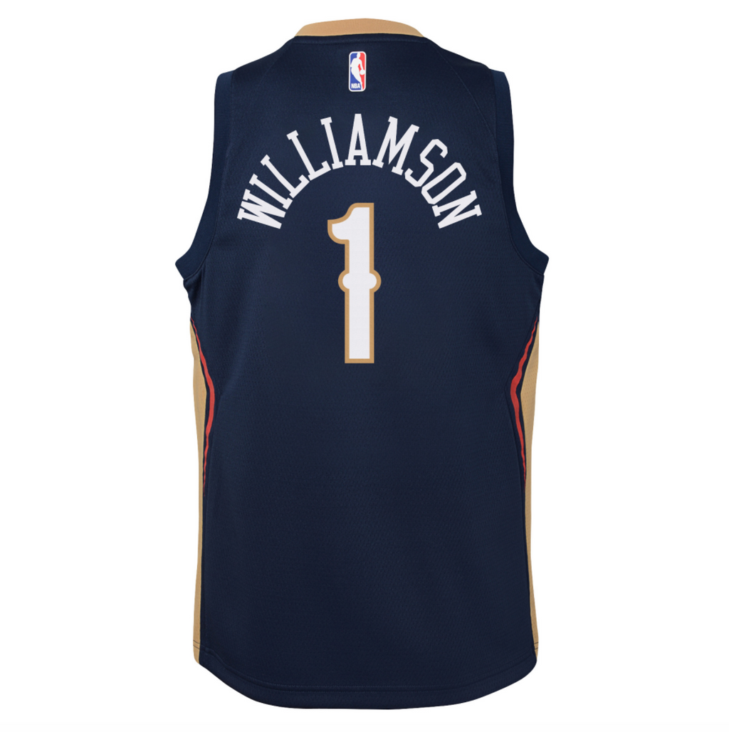 Youth Icon Swingman Jersey - 19/20 (Pelicans/Zion Williamson)