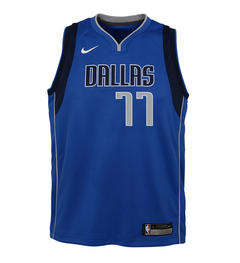 Youth Luka Doncic Icon Jersey (Mavericks)