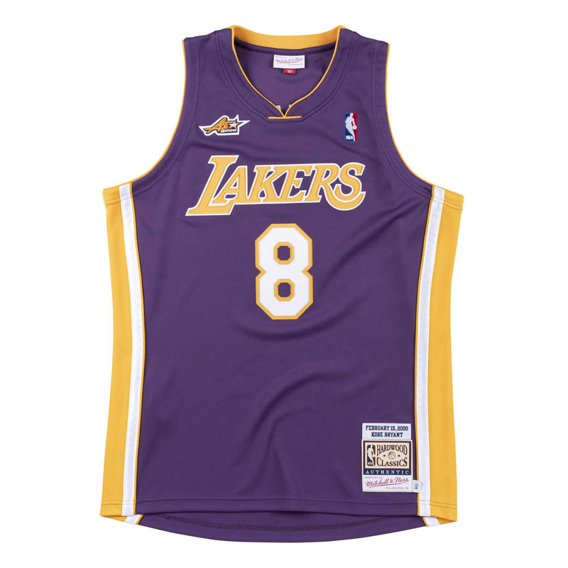 Los Angeles Laker 2000 Authentic Jersey Kobe Purple (All Star Game)