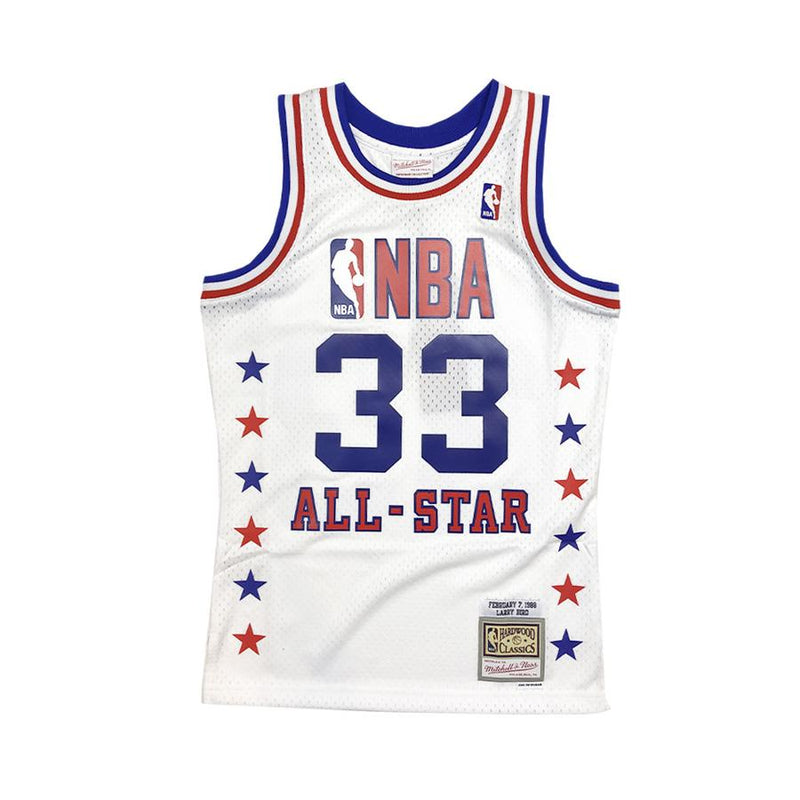 Larry Bird Hardwood Classic Eastern All Star Jersey 1988 (White)