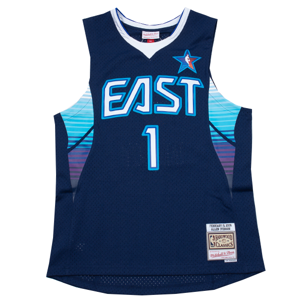 Allen Iverson Hardwood Classic Jersey  (East AS 2009)