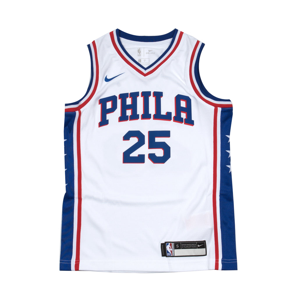 Youth Ben Simmons Association Swingman Jersey (76ers)