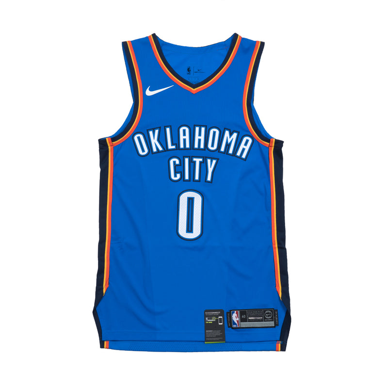 9f53deb79fb Russell Westbrook Icon Edition Authentic (Oklahoma City Thunder ...