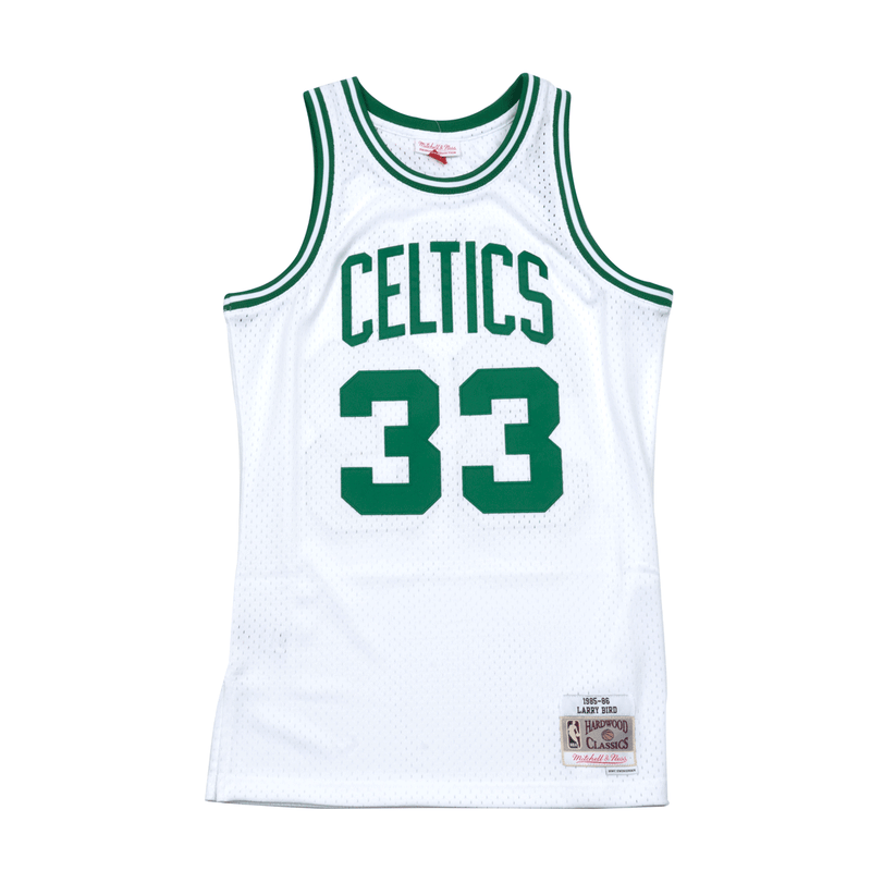 Larry Bird Hardwood Classic Jersey White (Boston Celtics)