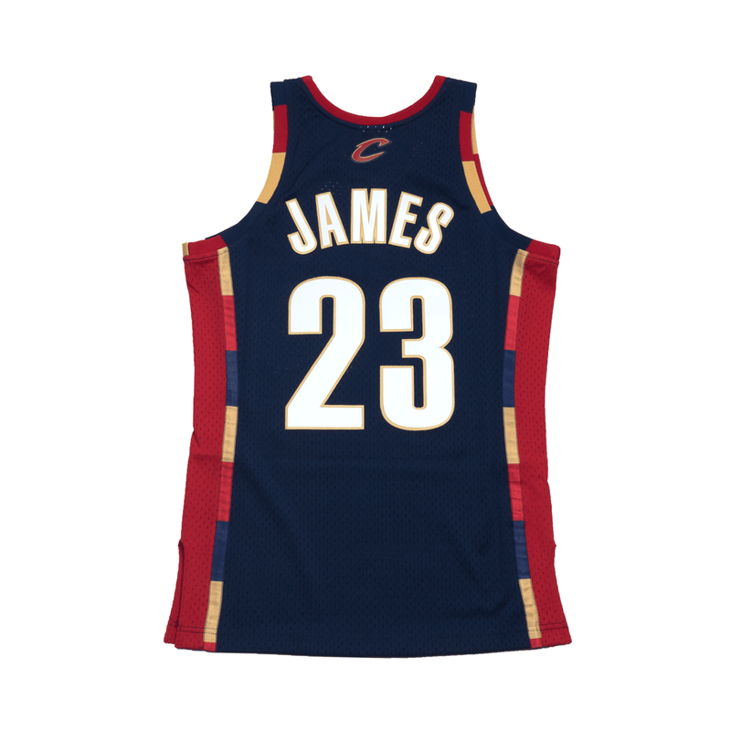 new york d23ae 063f9 Lebron James Hardwood Classic Swingman Jersey Navy (Cavs)