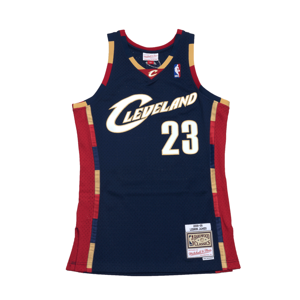 the latest 3fd7c 6adc8 Lebron James Hardwood Classic Swingman Jersey Navy (Cavs ...