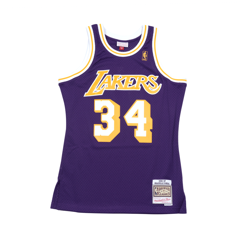 Shaquille O neal Hardwood Classic Jersey Purple (Los Angeles Lakers) bd66edb64