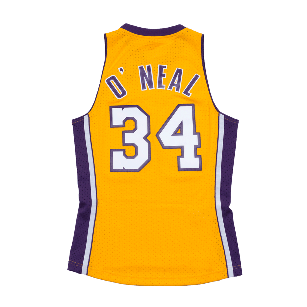 Shaquille O'neal Hardwood Classic Jersey Gold (Los Angeles Lakers)