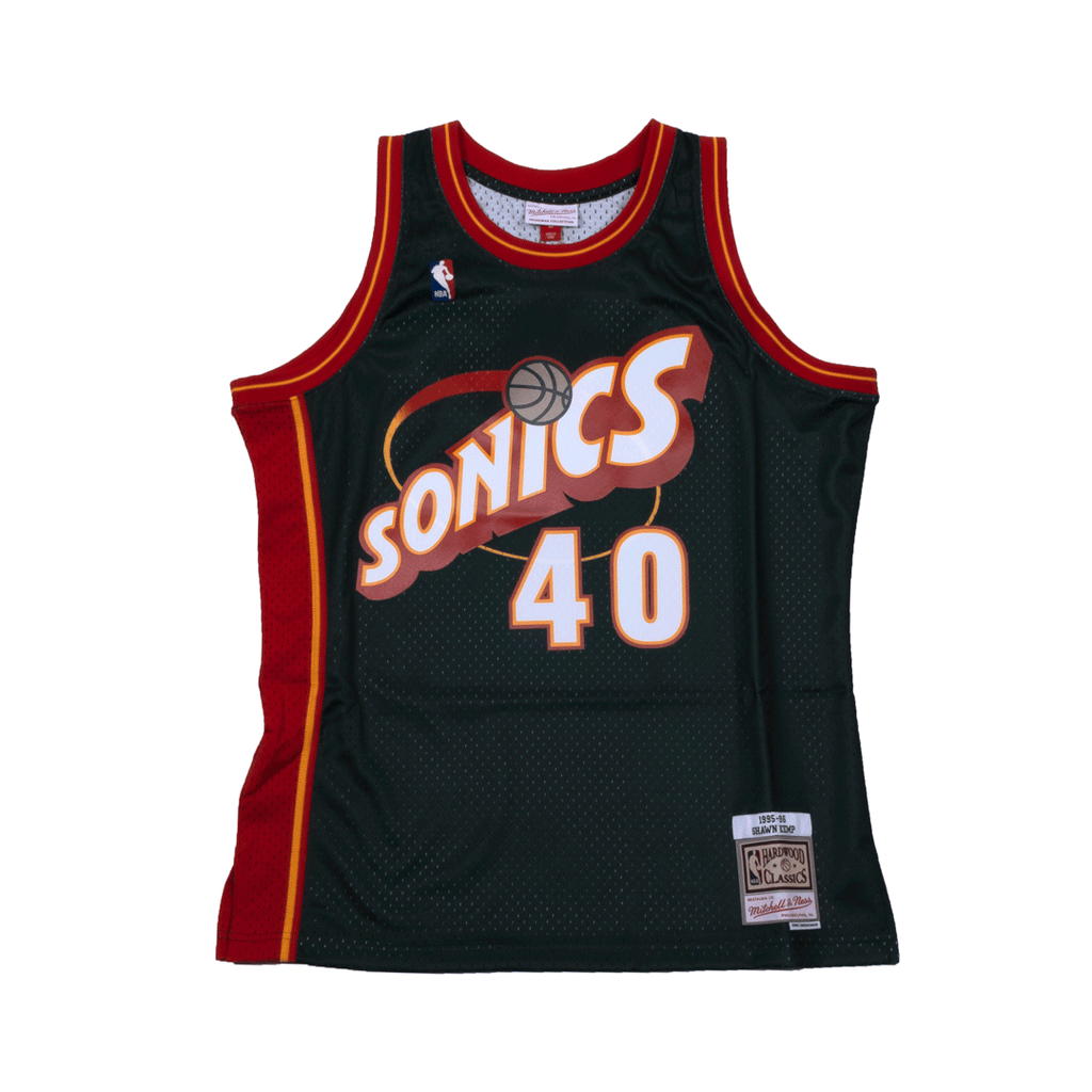 Shawn Kemp Hardwood Classic Jersey (SuperSonics)