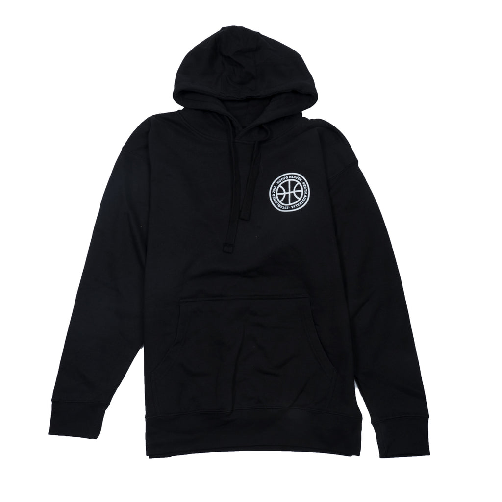 Retro Kings Hoops Heaven Hoodie Ball Black