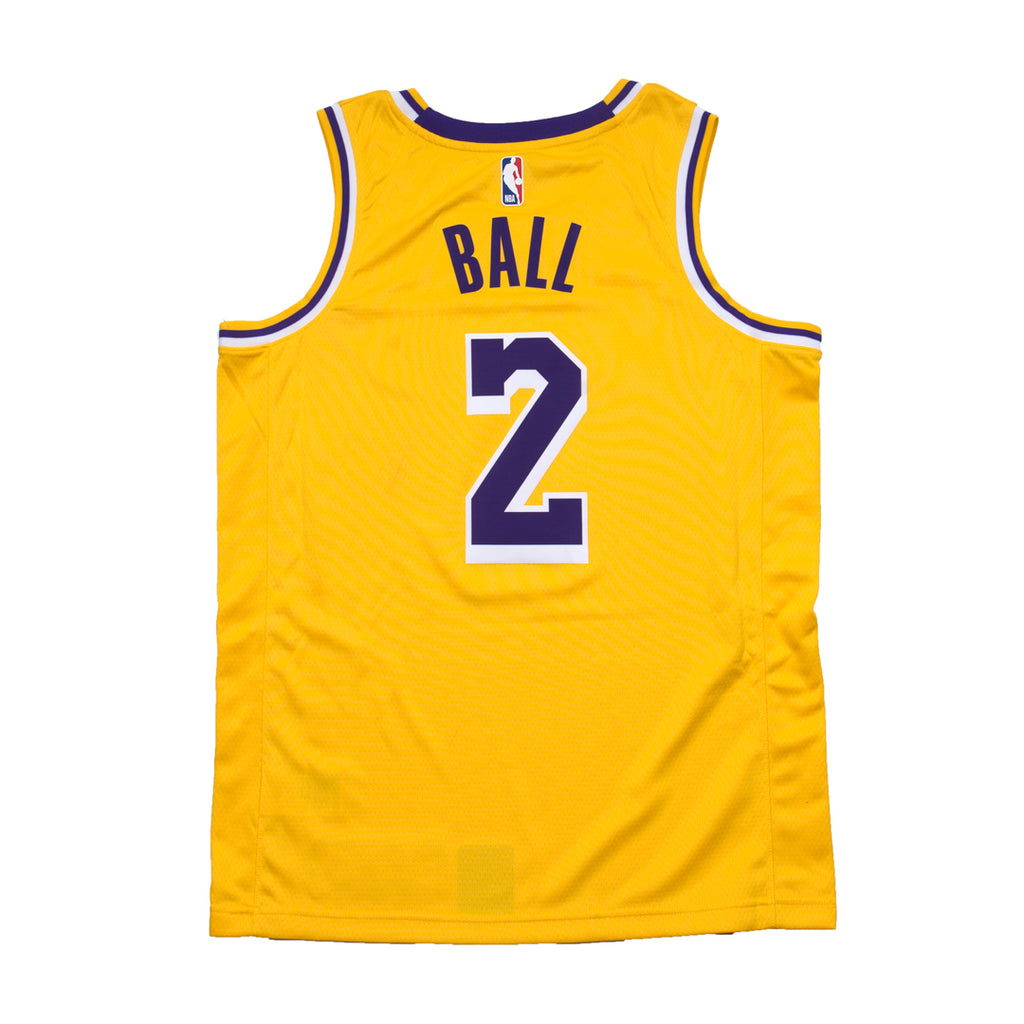 74c0d516bb5 Lonzo Ball Icon Edition Swingman Jersey (Los Angeles Lakers)