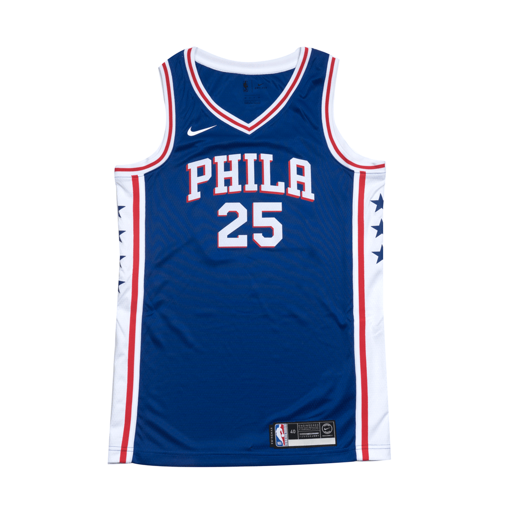 Youth Ben Simmons Swingman Icon Jersey (76ers)
