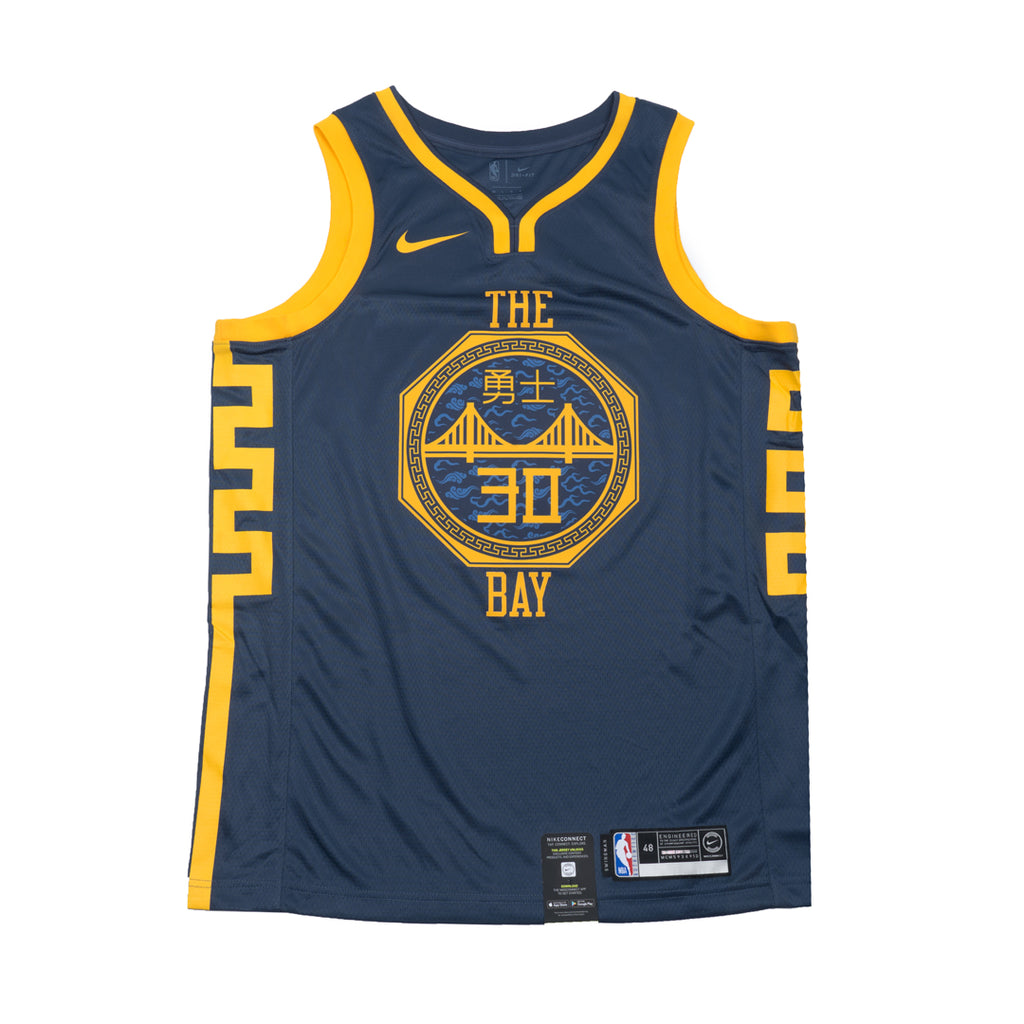 53bf538de Stephen Curry City Edition Swingman Jersey  18 (Warriors) – Hoops Heaven