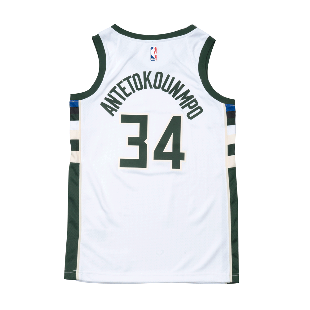 Giannis Antetokounmpo Association Edition Swingman Jersey (Milwaukee Bucks)