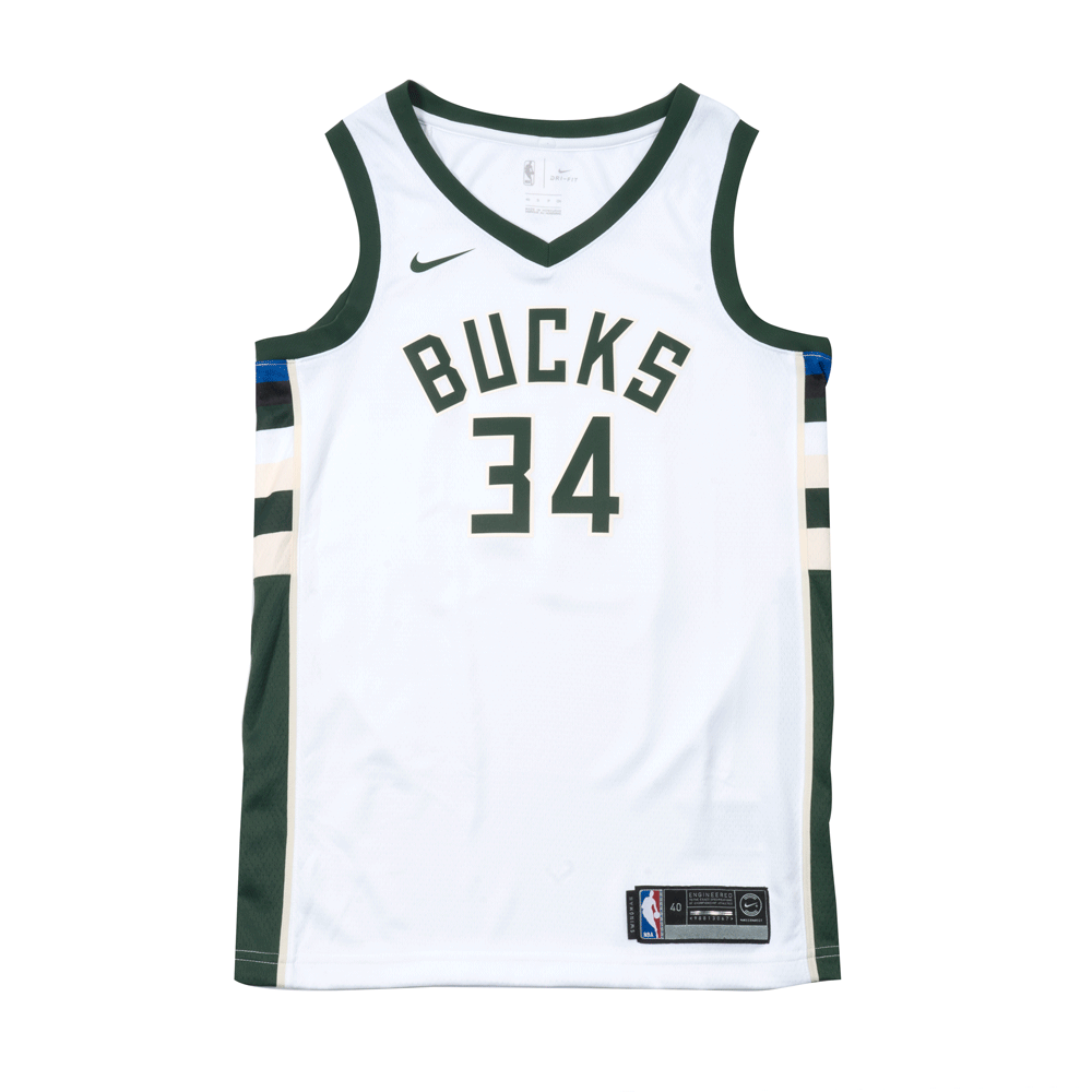 5b27611c9c0d Giannis Antetokounmpo Association Edition Swingman Jersey (Milwaukee ...