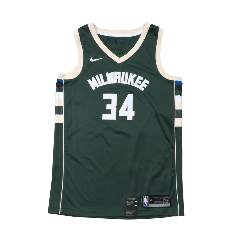 Giannis Antetokounmpo Icon Edition Swingman Jersey (Milwaukee Bucks)