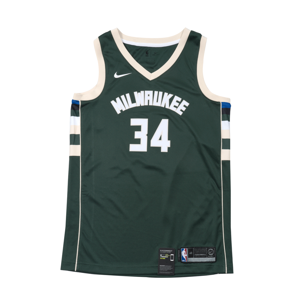 YOUTH Giannis Antetoknoumpo Icon Swingman Jersey (Milwaukee Bucks)
