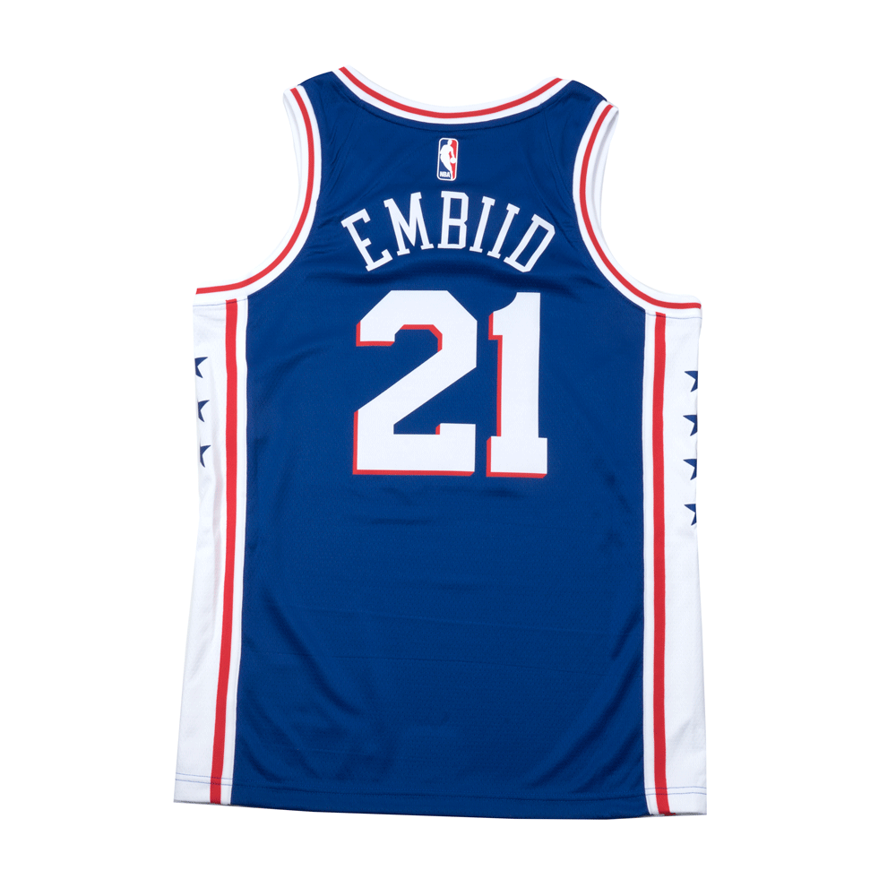 Youth Joel Embiid Icon Swingman Jersey (Philadelphia 76ers)