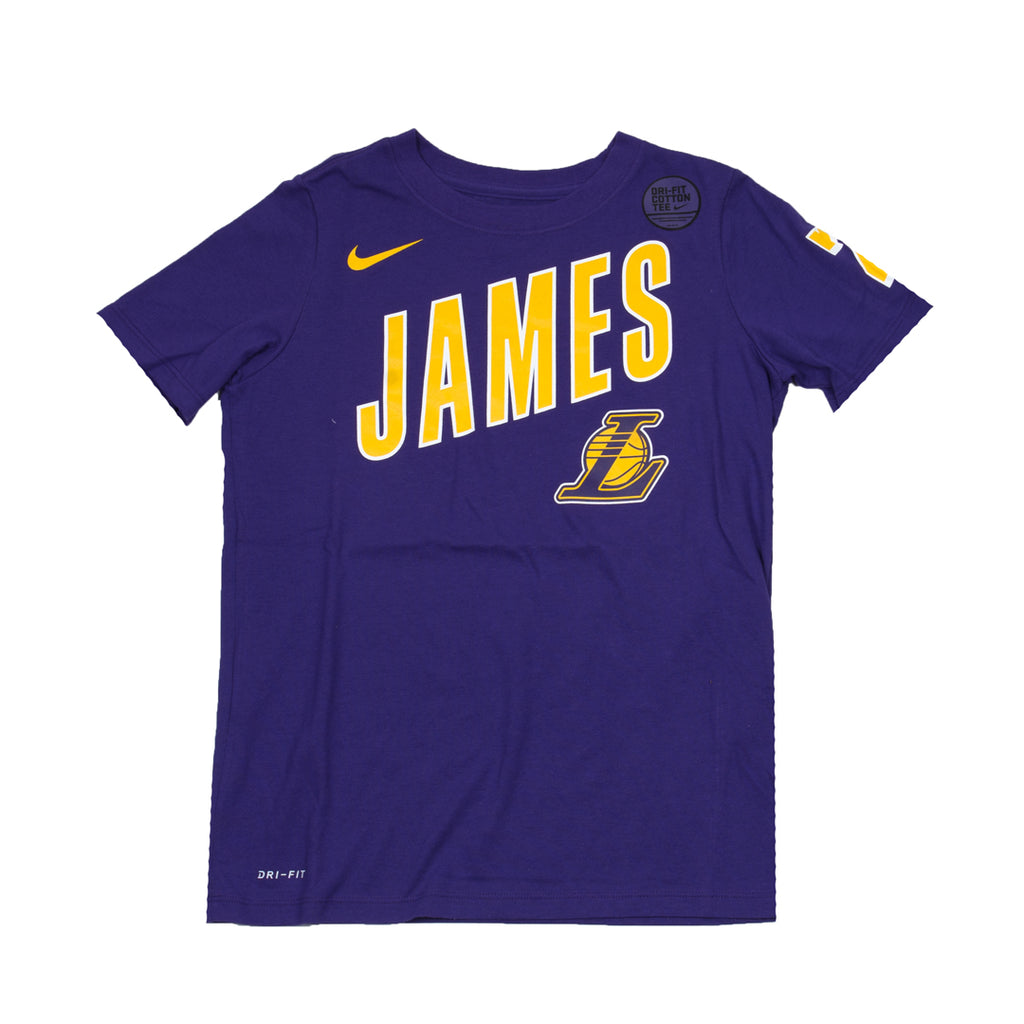 Youth Lebron James Dry Tee ES Player (Lakers)