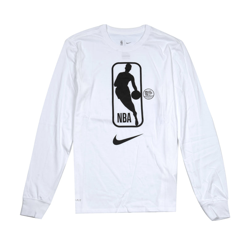 Nike NBA M Dry Tee LS Team 31 (White)