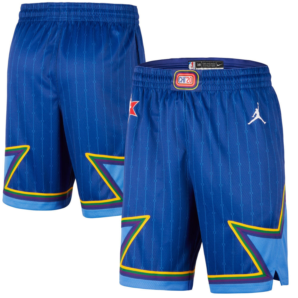 Jordan NBA All Star Swingman Shorts -  Blue - CJ1067 495