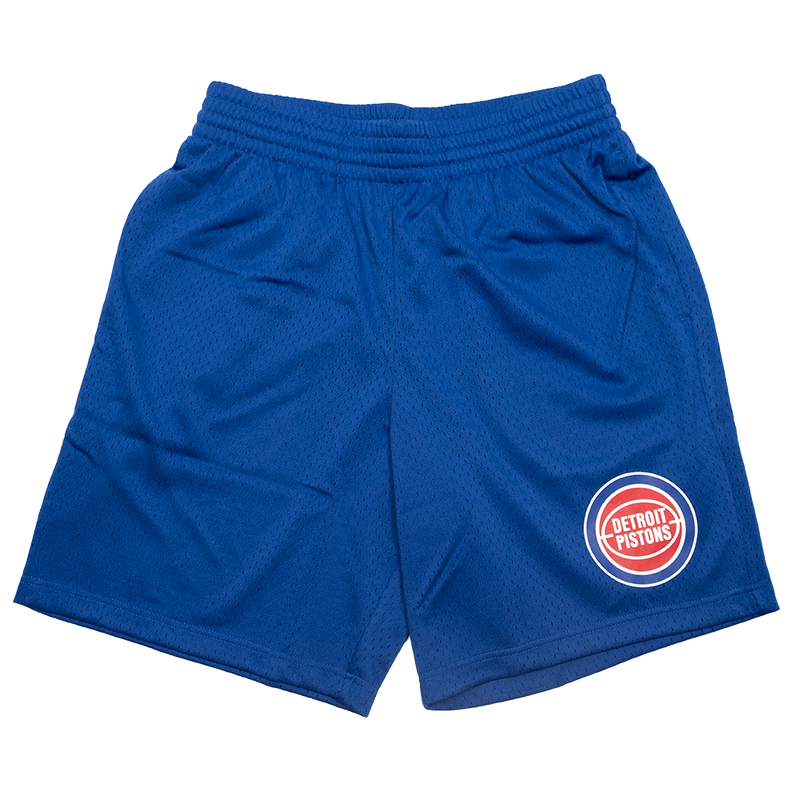 Detroit Pistons Mesh Court Short (Blue)