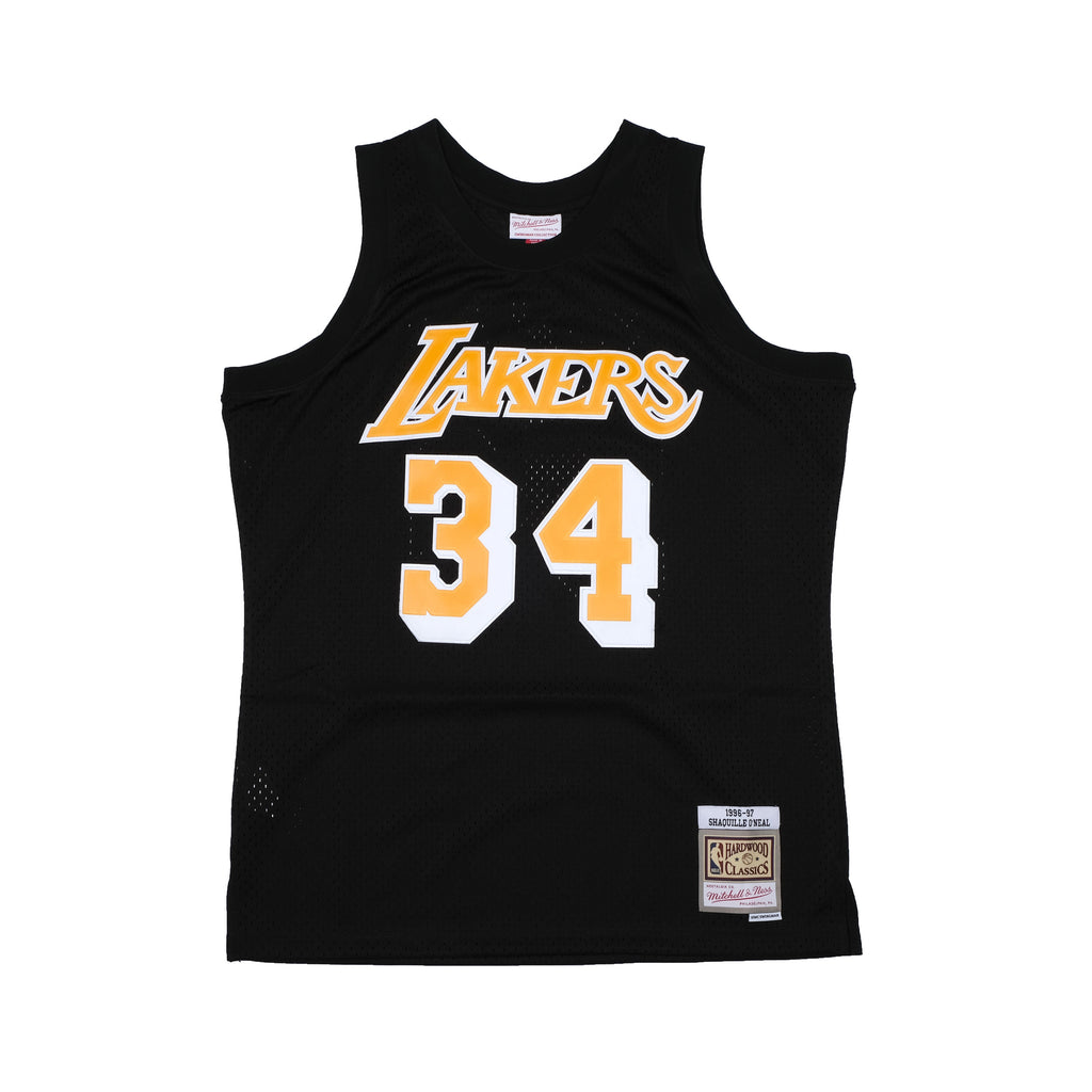 Shaquille O'Neal Hardwood Classic Black Team Colour Jersey (Lakers 96-97)