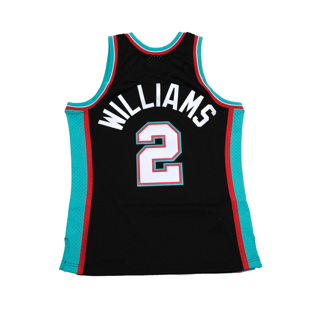 Jason Williams Hardwood Classic Memphis Grizzlies Jersey Black (2001/02)