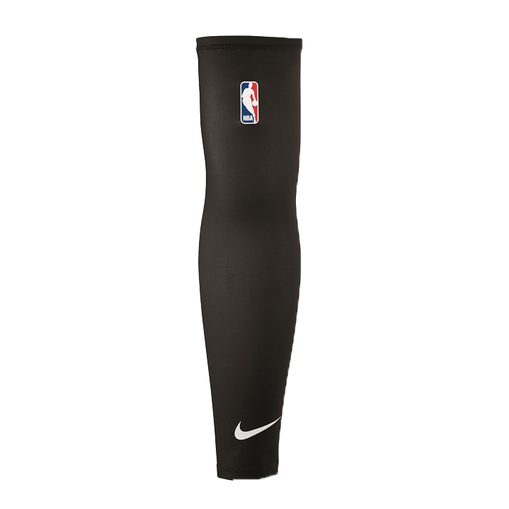 Nike NBA Elite  On Court Shooter Sleeve Single Pack - Black