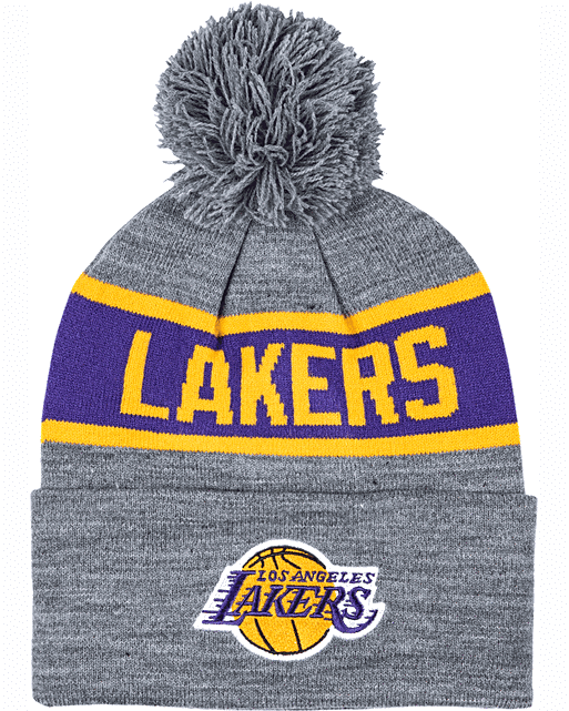 Los Angeles Lakers Team Tone Knit