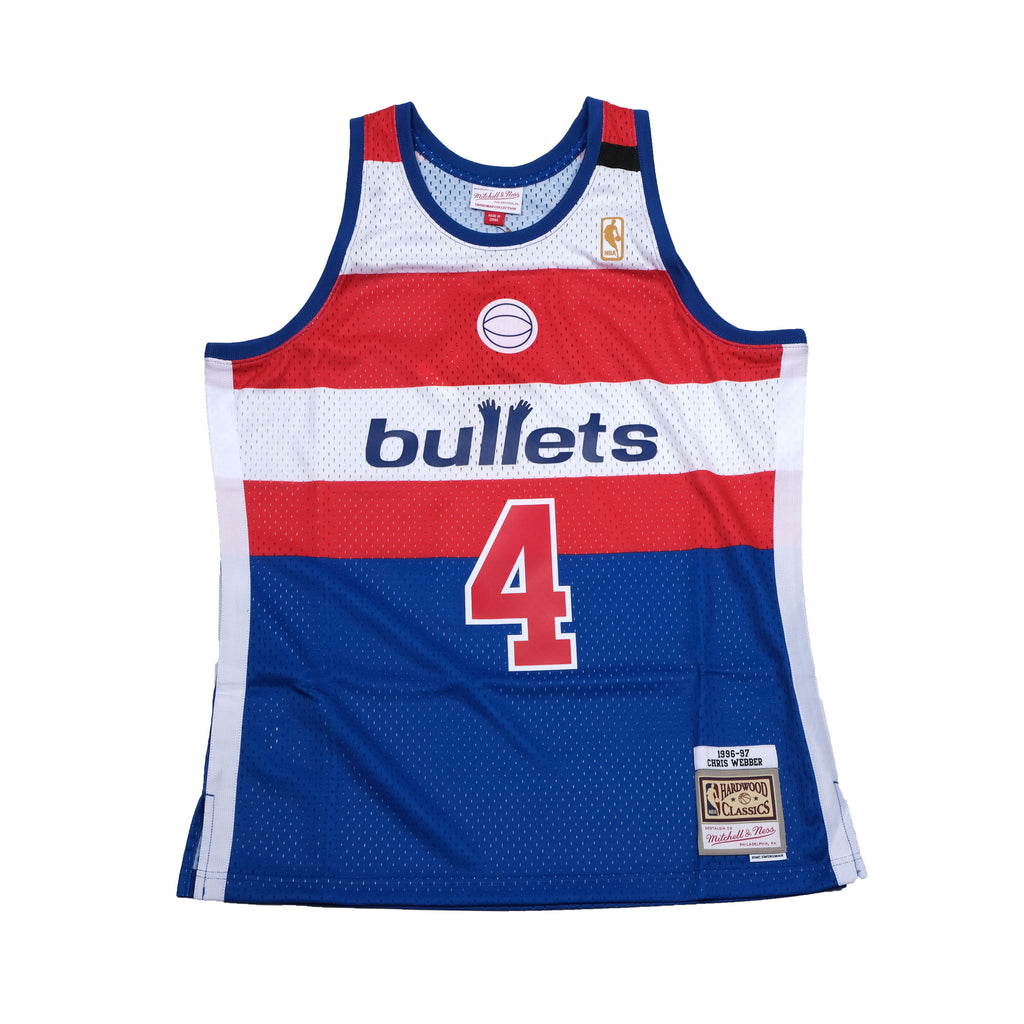 Chris Webber Hardwood Classic Jersey Washington Bullets (1996/97)