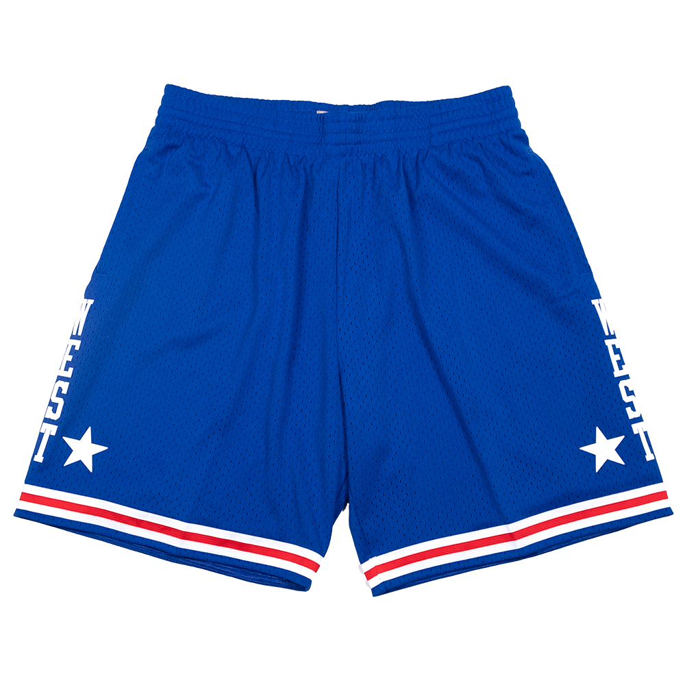 Hardwood Classic All Star Shorts Royal (West-85)