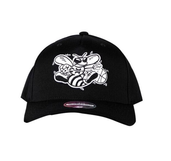 M&N SB Black and White logo 110 HWC- Hornets