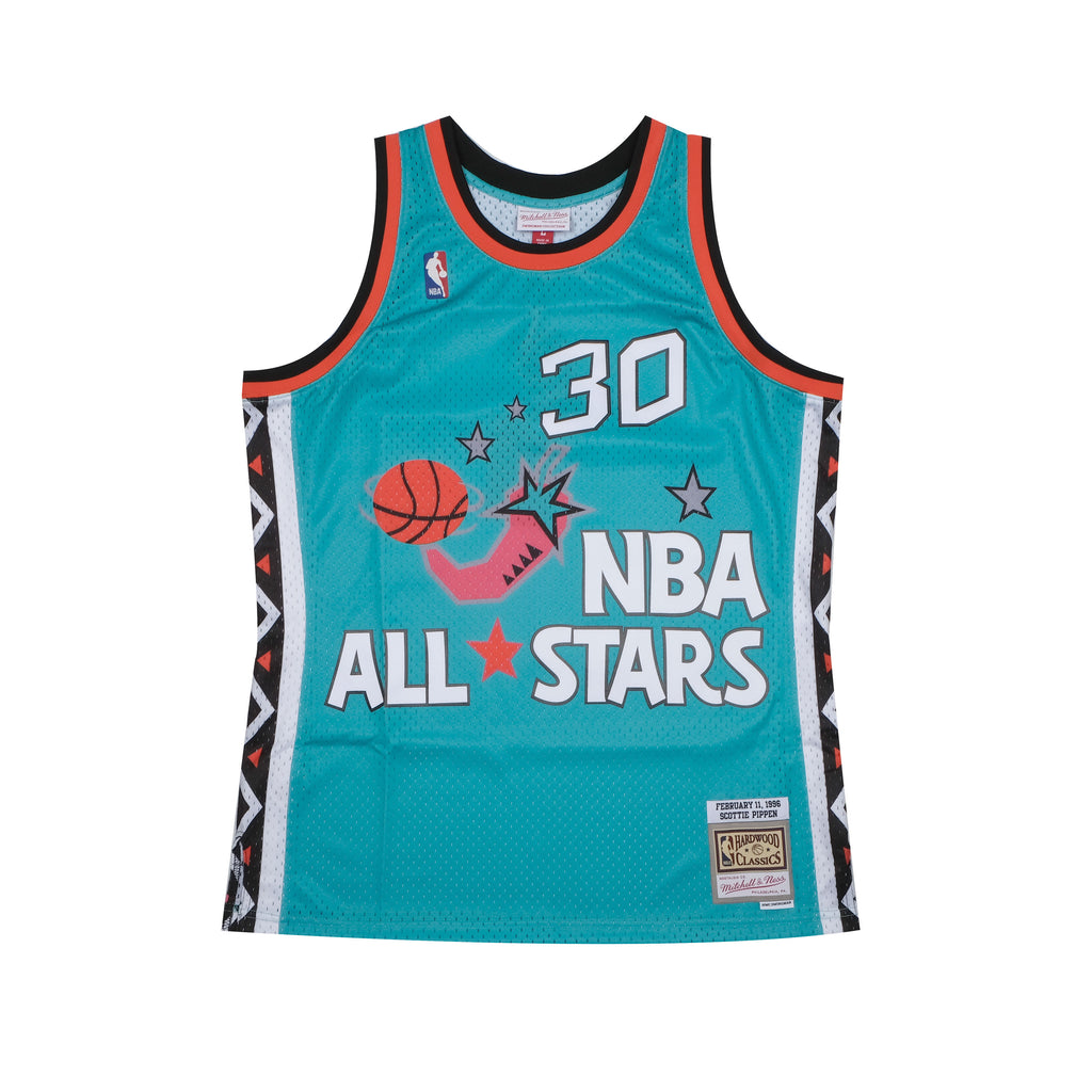 Scottie Pippen Hardwood Classic Eastern All Star Jersey 1996 (Teal)