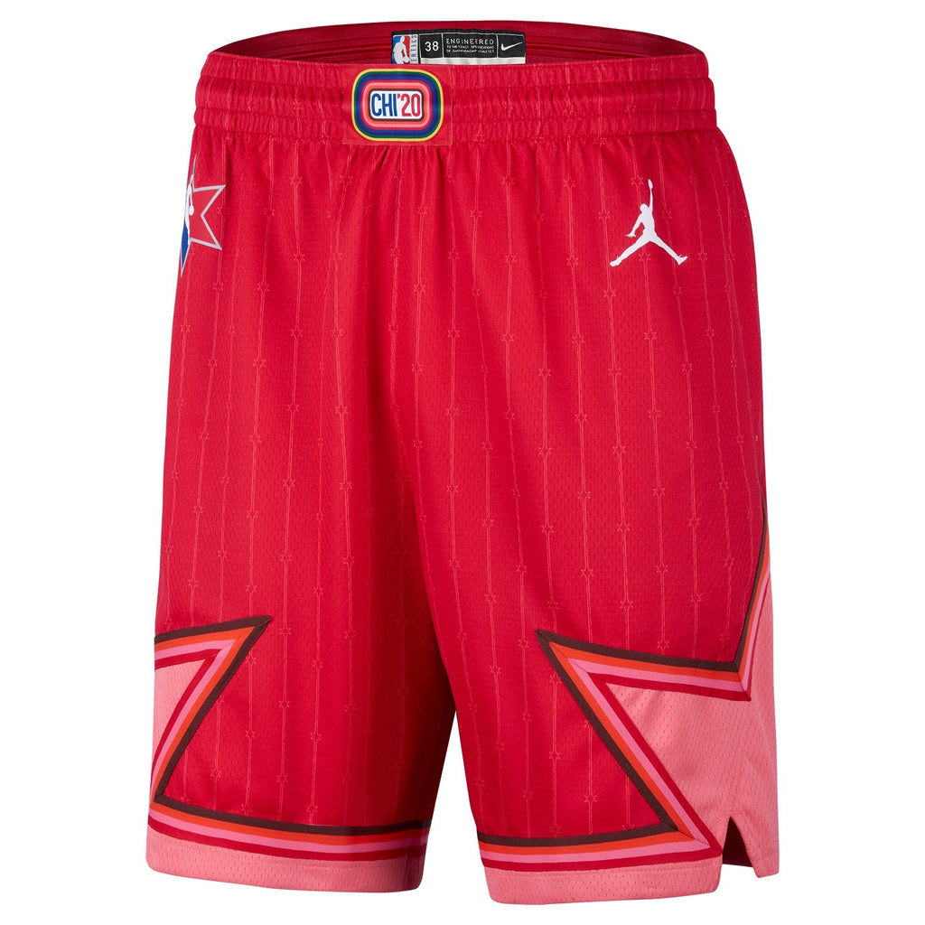 Jordan NBA All Star Swingman Shorts -  Red - CJ1067 657