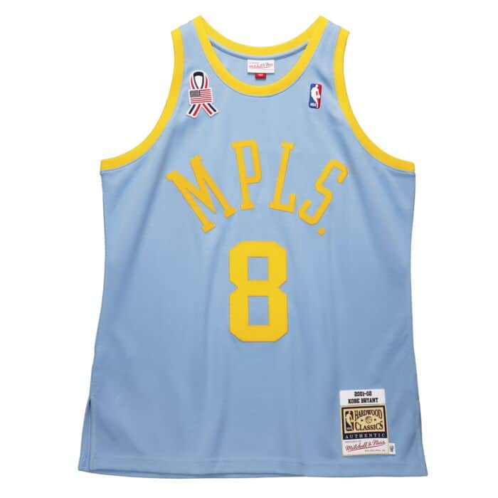 Los Angeles Lakers 2001/02 Kobe Bryant Authentic Jersey (MPLS)