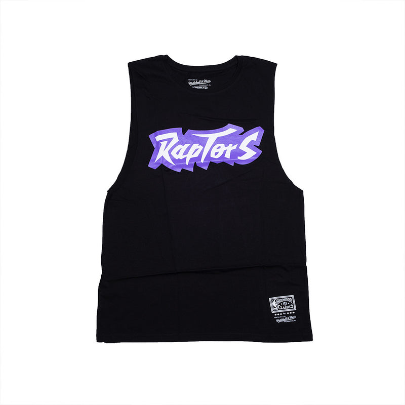 Retro Repeat Muscle Tee - Toronto Raptors