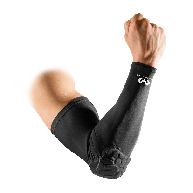 McDavid Hex Shooter Arm Sleeve Single (Black)