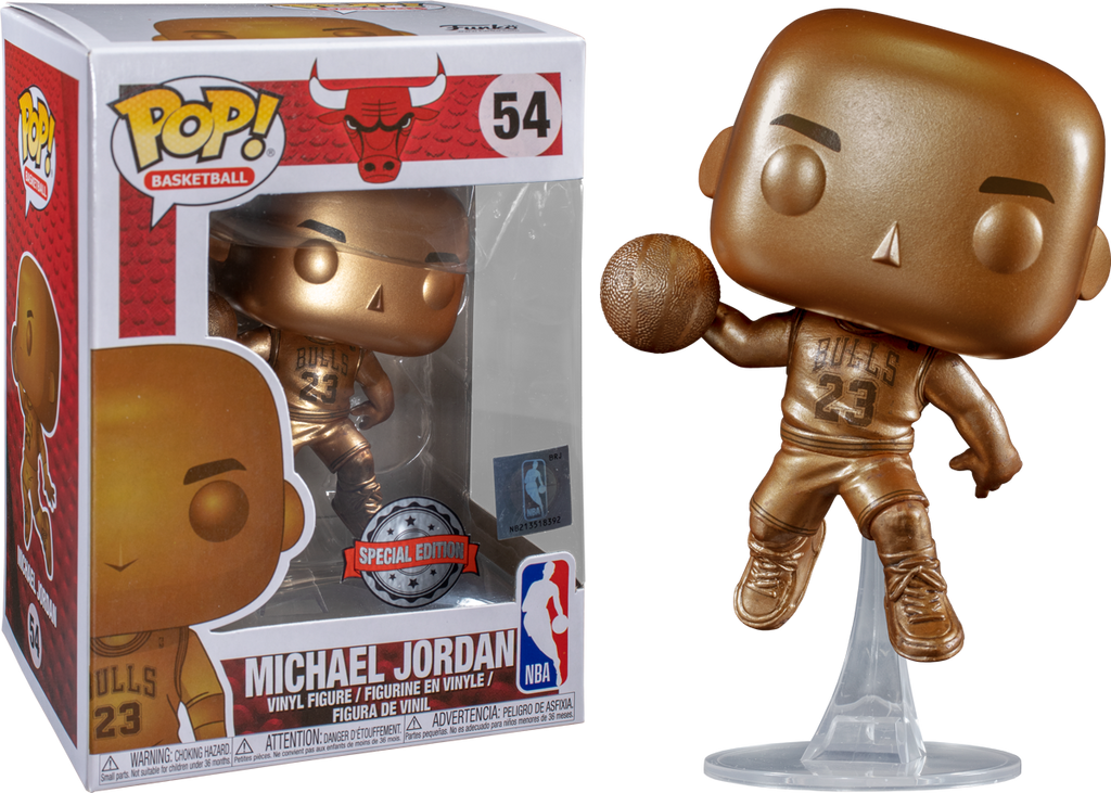 Pop Vinyl NBA Michael Jordan (Bronzed)