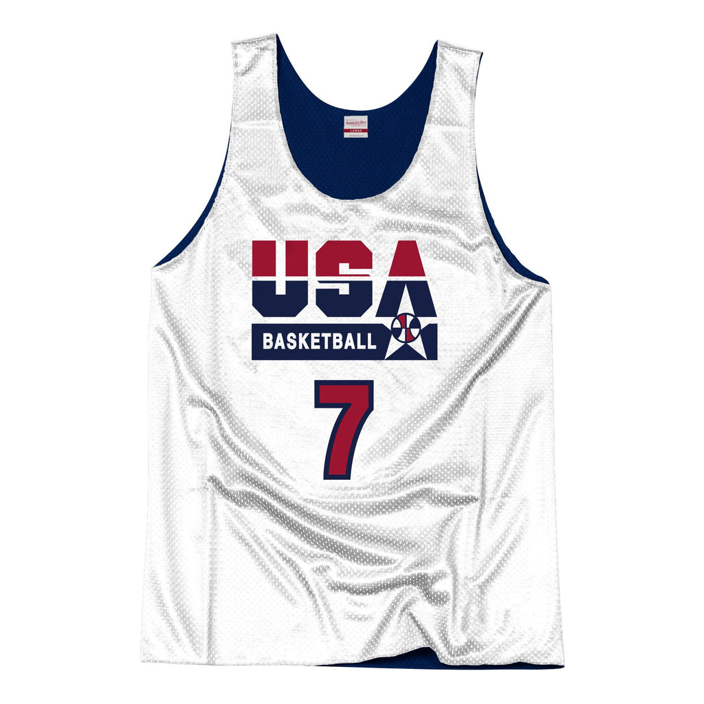 Team USA 1992 Reversible Practice Jersey Bird 7