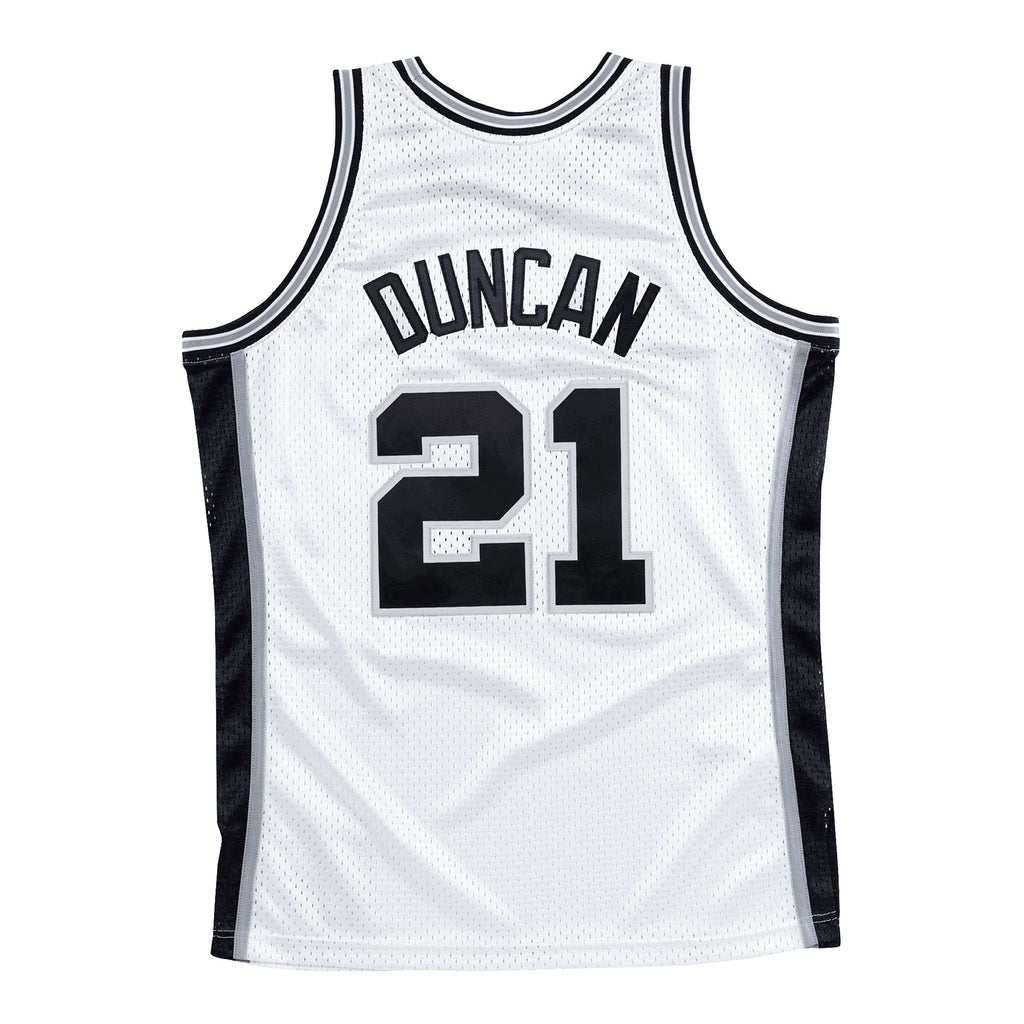 Tim Duncan Hardwood Classic Jersey (San Antonio Spurs/1998/99) New Cut