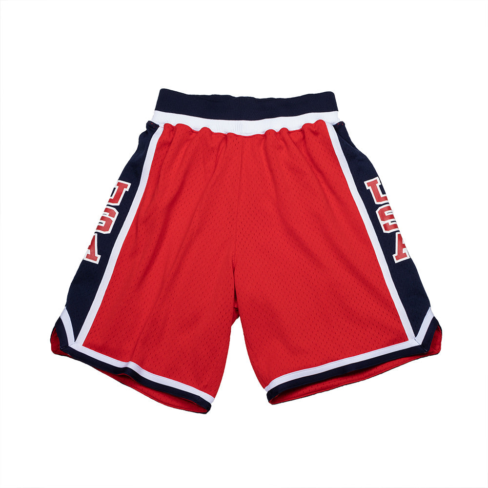 Team USA 1984 Authentic Shorts (Red)