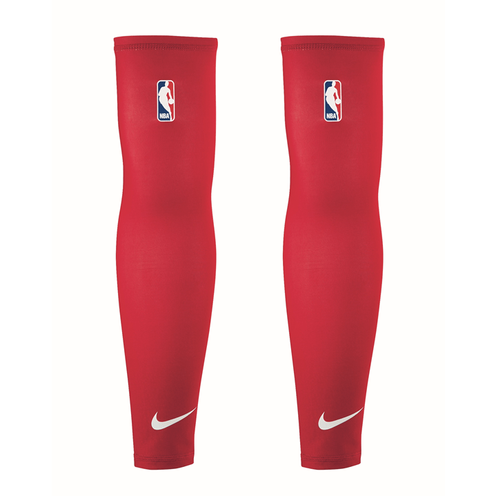 Nike NBA On Court Shooter Sleeves Red