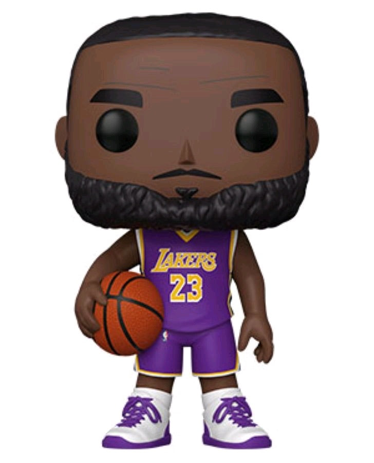 "Pop Vinyl NBA LeBron James 10"" (Purple Statement)"